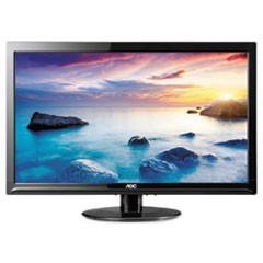 "TFT Active Matrix LED Monitor, 24"", 16:9 Aspect Ratio"