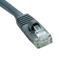 Cat5e 350MHz Molded Patch Cable, RJ45 (M/M), 100 ft., Gray