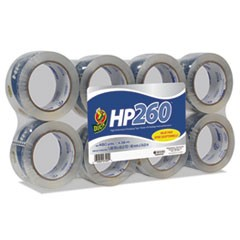 "HP260 Packaging Tape, 1.88"" x 60yds, 3"" Core, Clear, 8/Pack"