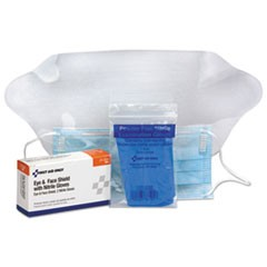 Refill for SmartCompliance General Business Cabinet, Eye & Face Shield;Gloves