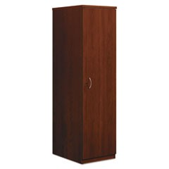 BL Series Personal Wardrobe Cabinet, 18w x 24d x 66h, Medium Cherry