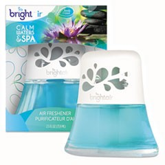 Scented Oil Air Freshener, Calm Waters and Spa, Blue, 2.5oz