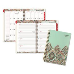 Marrakesh Desk Weekly/Monthly Planner, 5 3/4 x 8 1/8, 2018