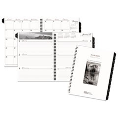 Executive Fashion Weekly/Monthly Planner Refill, 8 1/4 x 10 7/8, 2018