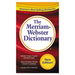 Merriam Webster The Merriam-Webster Dictionary, 11Th Edition, Paperback, 960 Pages