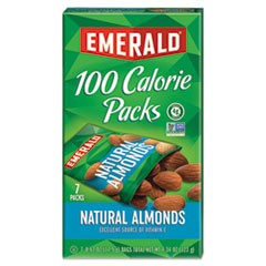 100 Calorie Pack All Natural Almonds, 0.63 oz Packs, 7/Box