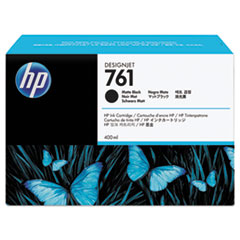 HP 761, (CM991A) Matte Black Original Ink Cartridge