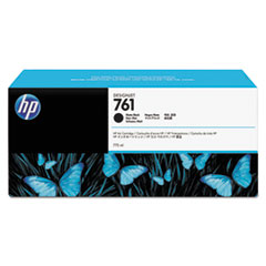 HP 761, (CM997A) Matte Black Original Ink Cartridge