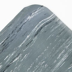 Cushion-Step Surface Mat, 36 x 60, Marbleized Rubber, Gray