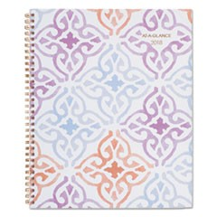 Cecilia Weekly/Monthly Planner, 8 1/2 x 11, Blue/Purple
