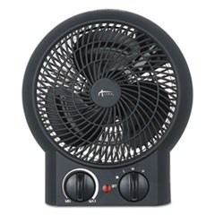 "Heater Fan, 8 1/4"" x 4 3/8"" x 9 3/8"", Black"