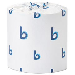 Deluxe Bath Tissue, Septic Safe, 2-Ply, White, 400 Sheets/Roll, 96/Carton