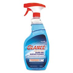 Glance Powerized Glass and Surface Cleaner, 32 oz, 8/Carton