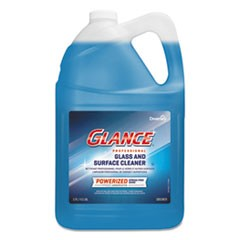 Glance Powerized Glass and Surface Cleaner, 1 gal, 4/Carton