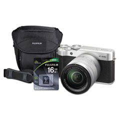 X-A10 Compact Interchangeable Lens Camera Bundle, 16 MP, Black