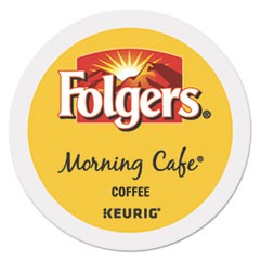 Morning Caf� Coffee K-Cups, 24/Box