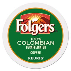 100% Colombian Decaf Coffee K-Cups, 24/Box