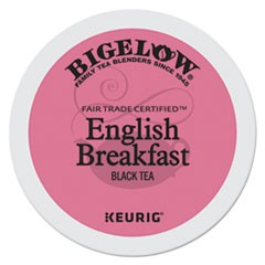 English Breakfast Tea K-Cups Pack, 24/Box