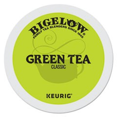 Green Tea K-Cup Pack, 24/Box, 4 Box/Carton