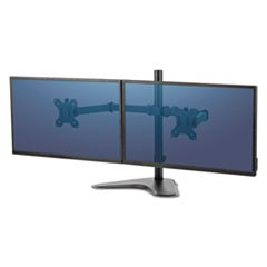 "Professional Series Freestanding Dual Horizontal Monitor Arm,Up to 32""/17 lbs"
