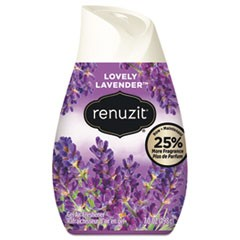 Renuzit Adjustables Air Freshener, Lovely Lavender, 7 Oz Solid