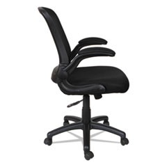 Alera EB-E Series Swivel/Tilt Mid-Back Mesh Chair, Black