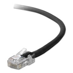 CAT5e Patch Cables, RJ45; RJ45, 2 m, Black