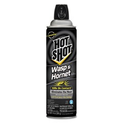 Hot Shot Wasp and Hornet Killer 3, 14 oz Aerosol, Characteristic, 12/Carton
