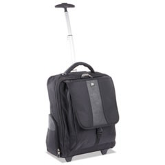 Gregory Wheeled RFID Business BackPack, 15 x 9 x 18, Nylon, Black
