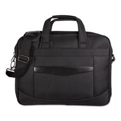 "Gregory Executive Briefcase, 16.25"" x 4.25"" x 11.5"", Nylon, Black"