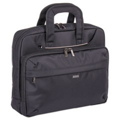 "Mitchell Executive Briefcase, 16"" x 4"" x 12.25"", Ballistic Nylon, Black"