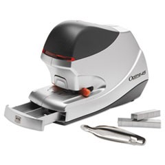 Optima 45 Electric Stapler, 45-Sheet Capacity, Silver
