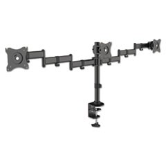 Articulating Multiple Monitor Arms, For Three Monitors, Desk Mount