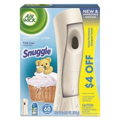 Freshmatic Ultra Automatic Starter Kit, Snuggle Fresh Linen,6.17oz Aerosl,4/CT