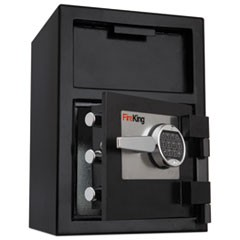 Depository Security Safe, 2.72 cu ft, 24w x 13.4d x 10.83h, Black