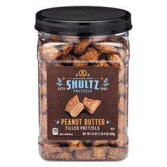 Pretzels, Peanut Butter, Tub, 24 oz