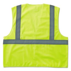 GloWear 8205HL Type R Class 2 Super Econo Mesh Safety Vest, Lime, Large/X-Large