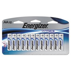 Ultimate Lithium AA Batteries, 1.5V, 12/Pack