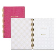 Notebook, 1 Subject, College Rule, Berry Cover, 8.5 x 5.75, 80 Sheets