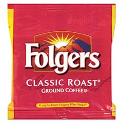 Coffee, Classic Roast, 6 oz, Fraction Pack, 200/Carton
