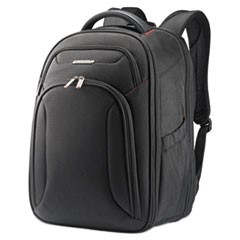 Xenon 3 Laptop Backpack, 12 x 8 x 17.5, Ballistic Polyester, Black