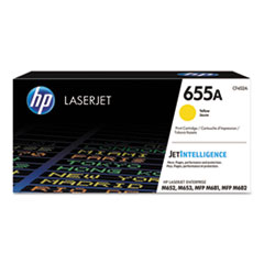 HP 655A, (CF452A) Yellow Original LaserJet Toner Cartridge