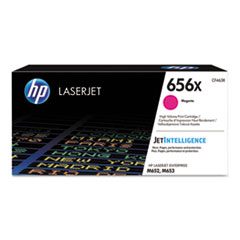 HP 656X, (CF463X) High Yield Magenta Original LaserJet Toner Cartridge
