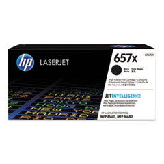 HP 657X, (CF470X) High Yield Black Original LaserJet Toner Cartridge