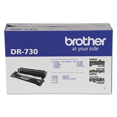 DR730 Drum Unit, 12000 Page-Yield, Black