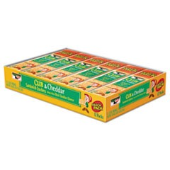 Sandwich Cracker, Club and Cheddar, 8 Cracker Snack Pack, 12/Box
