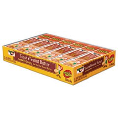 Sandwich Crackers, Toast & Peanut Butter, 8 Cracker Snack Pack, 12/Box