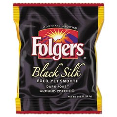 Coffee, Black Silk, 1.4 oz Packet, 42/Carton