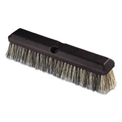"Vehicle Wash Brush, 2 1/2"" Gray Plastic/Polystyrene Bristles, 14"" Brush"