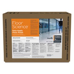 Floor Science Easy Apply Floor Finish, Ammonia Scent, 5 gal Box